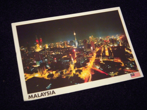 'Postcard Roulette' all the way from Malaysia!