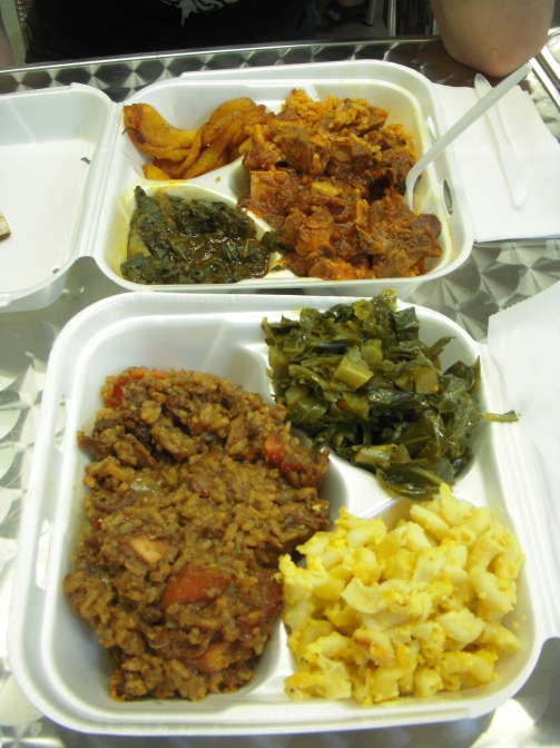 Delicious soul food at the Municipal Market.
