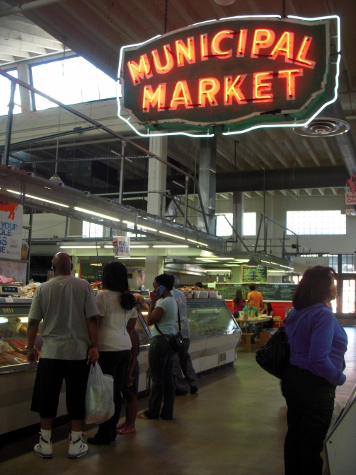 The Municipal Market in downtown Atlanta.