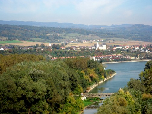 The UNESCO designated Wachau valley outside Vienna