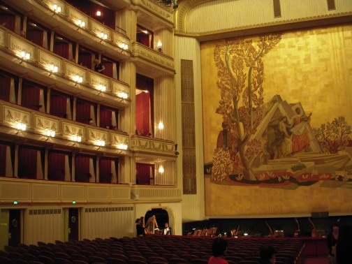 Intermission at the Opera