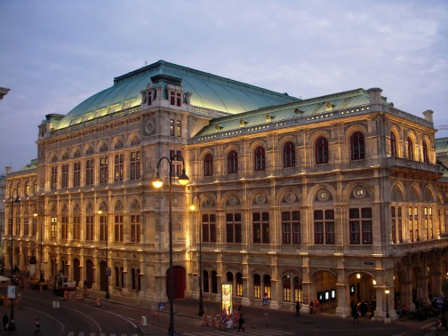 The Vienna State Opera House