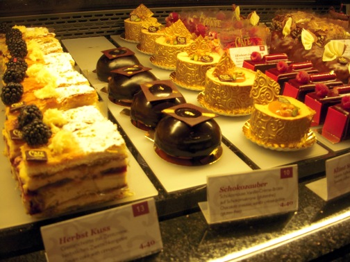 The selection at Cafe Central