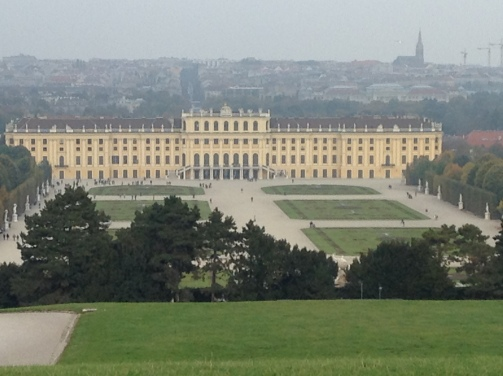 Schonbrunn Palace, the Hapsburg Residence!