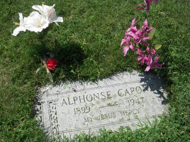 The Capone gravesite gets frequent visitors at Mount Carmel Cemetery.