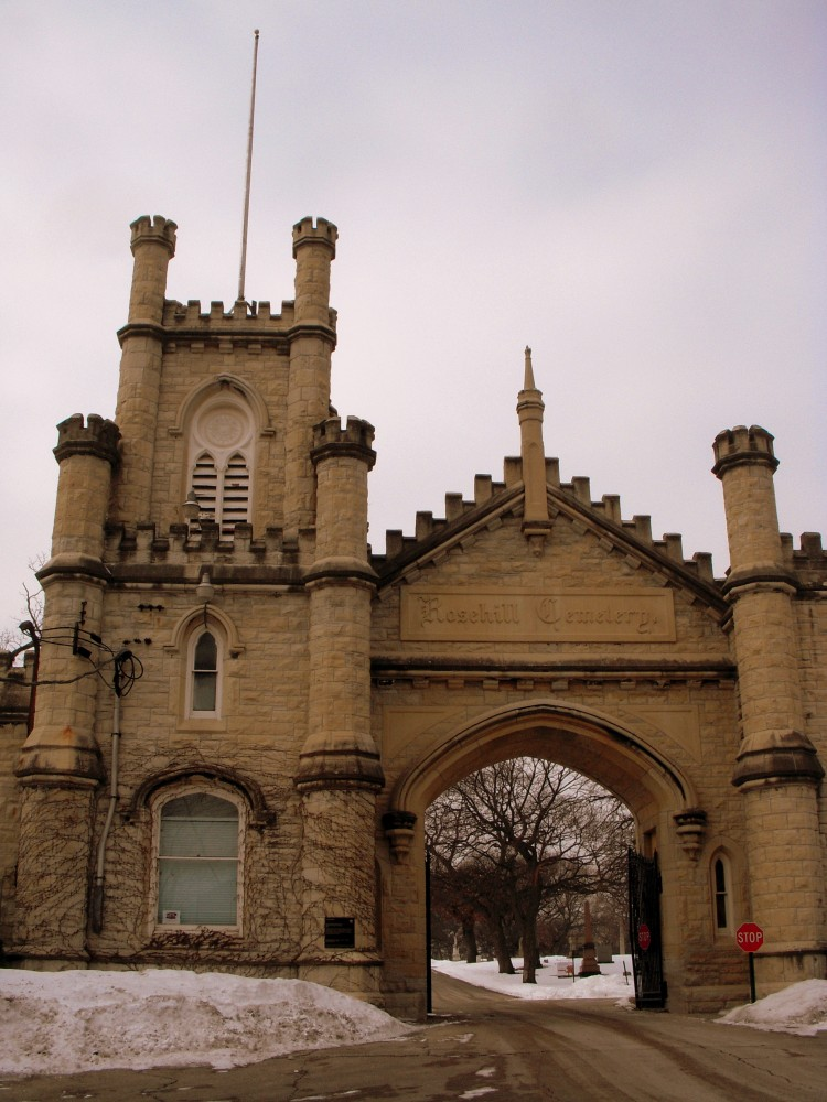 Rosehill Cemetery, North Side Chicago (1/4)