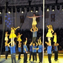 Finale of double stunts, Beauty and the Beast theme