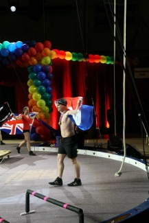Olympics theme for tightwire - parade of nations
