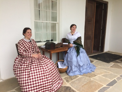 Reenactors at Texas Frontier Family Day