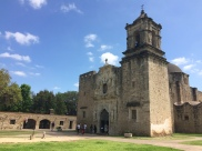 The largest of the missions, San José also has a lot of reconstructed elements