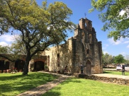 Mission Espada, the furthest south on the river