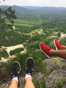 View from the summit of 'Old Baldy' at Garner State Park